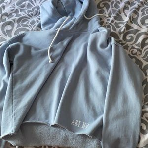 Abercrombie and Fitch Cropped Hoodie